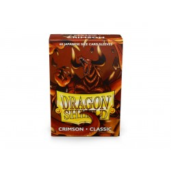 Protège-cartes Dragon Shield - 60 Japanese Sleeves Classic Crimson - Rendshear