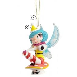 Figurine Mushroom Mermaid collection Miss Mindy à suspendre