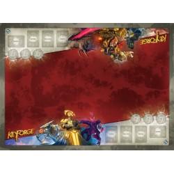 Tapis de jeu illustré Keyfoge - Architect's Vault Two Player