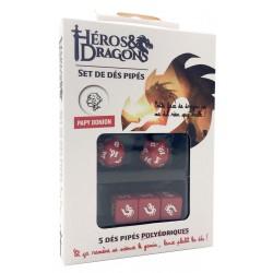 Héros & Dragons : Set de dés pipés