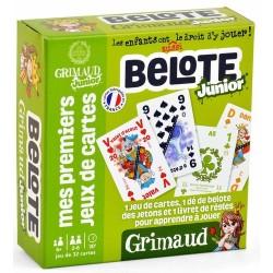 Mes premiers jeux de cartes - Belotte Junior