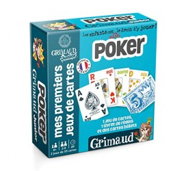 Mes premiers jeux de cartes - Poker Junior