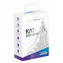 Protège-cartes Ultimate Guard 100 pochettes Katana Sleeves taille standard Blanc