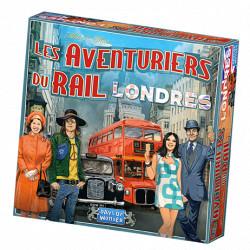 Jeux de société - Les Aventuriers du Rail Londres