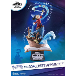 Figurine Disney Mickey Beyond Imagination diorama PVC D-Stage The Sorcerer's Apprentice 15 cm