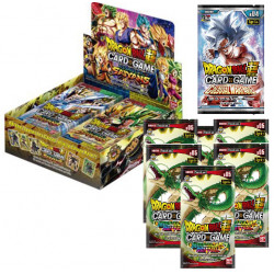 Booster Dragon Ball Super Card Game - Assault Of The Saiyans B07 boite complète