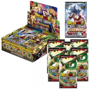 Booster Dragon Ball Super Card Game - Assault Of The Saiyans B07