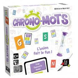 Jeux de société - Chrono-Mots