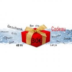 Chèque Cadeau d'une Valeur de 30 €