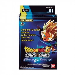 Starter Dragon Ball Card Game Expert Deck 1 Universe 6 Assailants