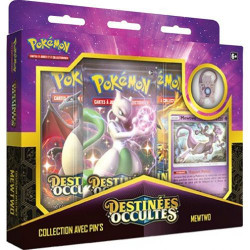 Coffret Pokémon Français - Collection avec Pin's Destinée Occulte : Mewtwo