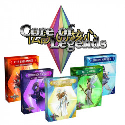 Core of Legends - Decks de Découvertes - Ombre : Destruction Ténébreuse
