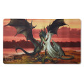 Tapis de jeu playmat Dragon Shield illustré - Valentines Day Dragons