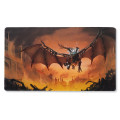 Tapis de jeu playmat Dragon Shield illustré - Draco Primus' Unhinged