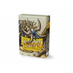 Protège-cartes Dragon Shield - 60 Japanese Sleeves Matte Ivory - Opylae