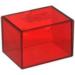Deck box boite de rangement Dragon Shield Gaming Box - Rouge