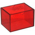 Deck box boite de rangement Dragon Shield Gaming Box - Rouge