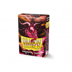 Protège-cartes Dragon Shield - 60 Japanese Sleeves Matte Magenta - Demato