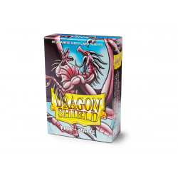 Protège-cartes Dragon Shield - 60 Japanese Sleeves Matte Rose - Mitsanu