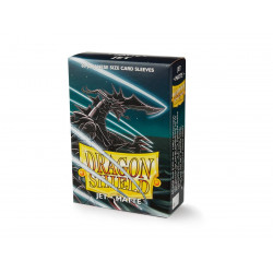 Protège-cartes Dragon Shield - 60 Japanese Sleeves Matte Jet - Extanium