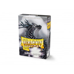 Protège-cartes Dragon Shield - 60 Japanese Sleeves Matte Slate - Lithos