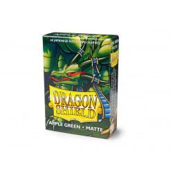 Protège-cartes Dragon Shield - 60 Japanese Sleeves Matte Green Apple - Eluf