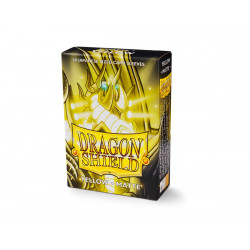 Protège-cartes Dragon Shield - 60 Japanese Sleeves Matte Jaune - Shesha