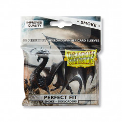 Protège-cartes Dragon Shield - 100 Standard Perfect Fit Sideloaders Smoke : Shinon