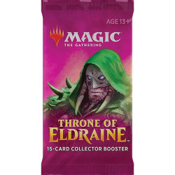 Booster Magic anglais Throne of Eldraine Collector Booster