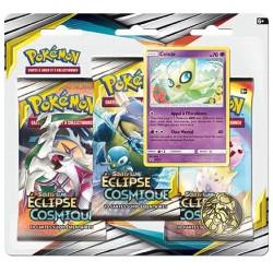 Booster Pokémon Soleil et Lune - Eclipse Cosmique : Tripack Celebi