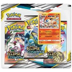 Booster Pokémon Soleil et Lune - Eclipse Cosmique : Tripack Victini
