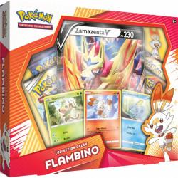 "Coffret Pokémon Français Collection Galar : Flambino "" Zamazenta """