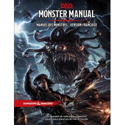 Jeux de rôle - Dungeons & Dragons 5e Éd. : Monster Manual - Manuel des Monstres - Version française de Donjon et Dragon