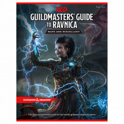 "Dungeon & Dragon - Guildmasters'Guide to Ravnica ""Maps and Miscellany"""