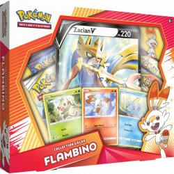 """Coffret Pokémon Français Collection Galar : Flambino """" Zacian """""""