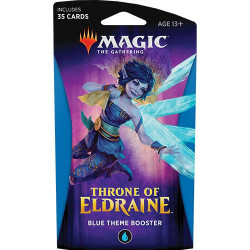 Booster Magic Thrône of Eldraine - Theme Booster : Bleu