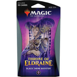 Booster Magic Thrône of Eldraine - Theme Booster : Noir