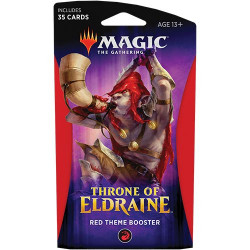 Booster Magic Thrône of Eldraine - Theme Booster : Rouge