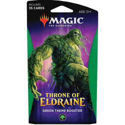 Booster Magic Thrône of Eldraine - Theme Booster : Vert