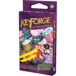 Jeux de société - Keyforge - Collision des Mondes