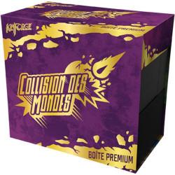 Jeux de société - Keyforge - Collision des Mondes Boîte Premium