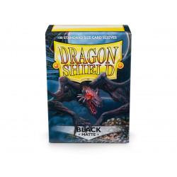 Protège-cartes Dragon Shield - 100 Standard Sleeves Classic Black