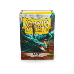 Protège-cartes Dragon Shield - 100 Standard Sleeves Classic Mint - Cor