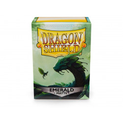 Protège-cartes Dragon Shield - 100 Standard Sleeves Classic Apple Green - Eliban