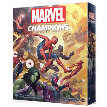 Jeux de société - Marvel Champions : Le Jeu De Cartes