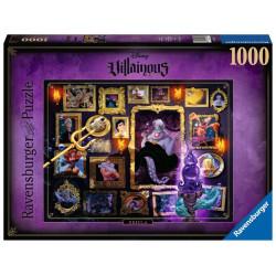 Puzzle : 1000 p - Ursula - Collection Disney Villainous
