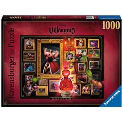 Puzzle : 1000 p - La Reine de cœur - Collection Disney Villainous