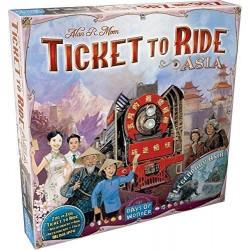Jeux de société - Les Aventuriers du Rail Asia