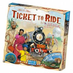 Jeux de société - Les Aventuriers du Rail - Extension : Inde & Suisse