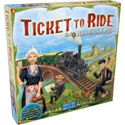 Jeux de société - Les Aventuriers du Rail Pays-Bas
